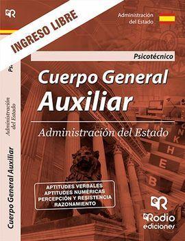 PSICOTECNICO CUERPO GENERAL AUXILIAR ADMINISTRACION ESTADO