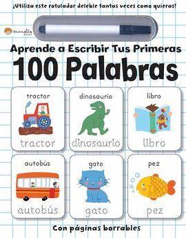 APRENDE A ESCRIBIR TUS PRIMERAS 100 PALA