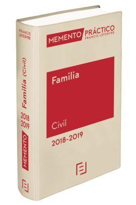 MEMENTO FAMILIA (CIVIL) 2018-2019