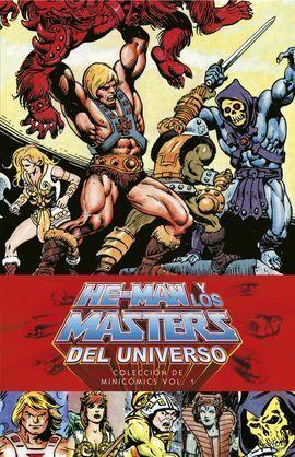 HE-MAN Y LOS MASTERS DEL UNIVERSO: COLECCIÓN DE MINICÓMICS VOL. 01