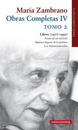 MARÍA ZAMBRANO O.C IV    TOMO 2