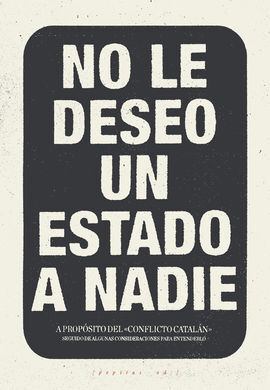NO LE DESEO UN ESTADO A NADIE
