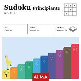 SUDOKU PRINCIPIANTE. NIVEL 1 (CUADRADOS DE DIVERSIÓN)