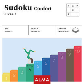 SUDOKU CONFORT. NIVEL 4 (CUADRADOS DE DIVERSION)