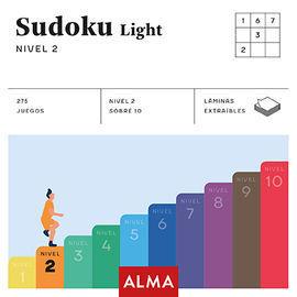 SUDOKU LIGHT. NIVEL 2 (CUADRADOS DE DIVERSION)