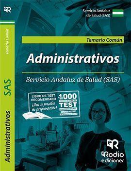 ADMINISTRATIVO/A DEL SAS. TEMARIO COMÚN