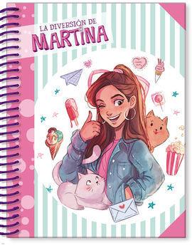LIBRETA LA DIVERSIÓN DE MARTINA