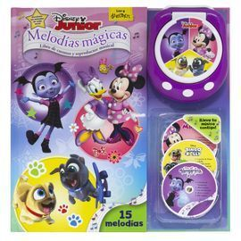 DISNEY JUNIOR. MELODIAS MAGICAS. LIBRO CON REPRODUCTOR MUSICAL