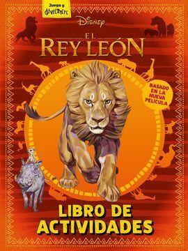 EL REY LEÓN. LIBRO DE ACTIVIDADES