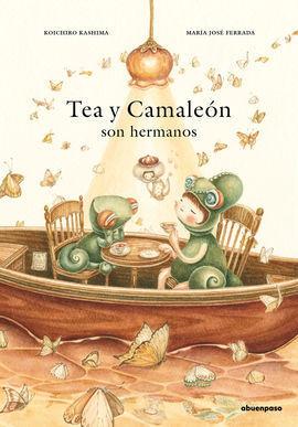 TEA Y CAMALEON SON HERMANOS