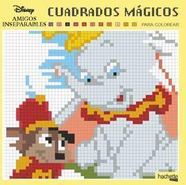 CUADRADOS MÁGICOS-AMIGOS INSEPARABLES DISNEY