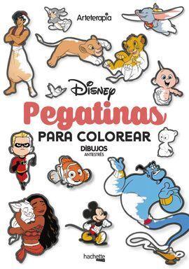 PEGATINAS PARA COLOREAR DISNEY