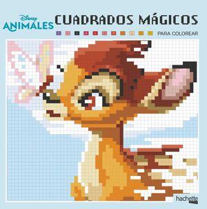 CUADRADOS MÁGICOS. ANIMALES DISNEY
