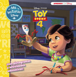 TOY STORY 4 (MIS LECTURAS DISNEY)