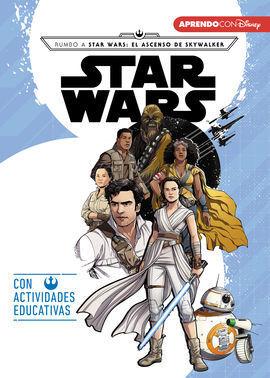 STAR WARS. CAMINO AL EPISODIO IX - EL ASCENSO DE SKYWALKER (LEO, JUEGO Y APRENDO