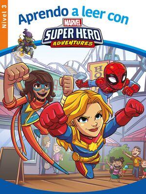 APRENDO A LEER CON MARVEL SUPER HERO NIVEL 3