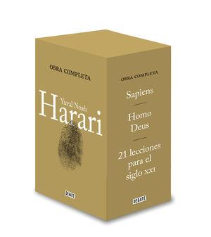 (ESTUCHE).SAPIENS/HOMO DEUS/21 LECCIONES SIGLO XXI/HISTORIA
