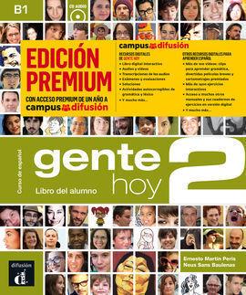 GENTE HOY 2 LIBRO ALUMNO CD PREMIUM
