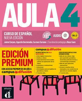 AULA NUEVA EDICIÓN 4 PREMIUM LIBRO DEL ALUMNO + CD