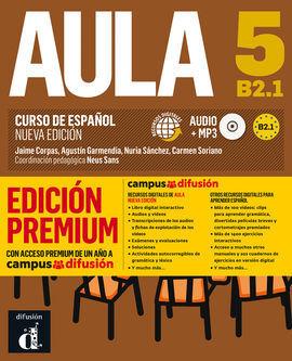 AULA NUEVA EDICIÓN 5 PREMIUM LIBRO DEL ALUMNO + CD