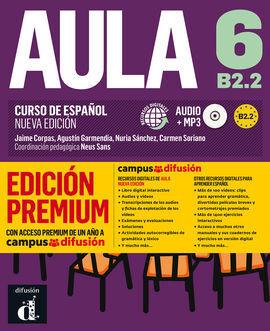 AULA NUEVA EDICIÓN 6 PREMIUM LIBRO DEL ALUMNO + CD