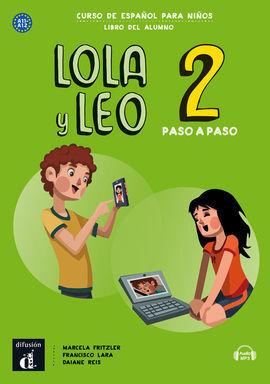LOLA Y LEO PASO A PASO 2. LIBRO DEL ALUMNO. A1.1-A1.2