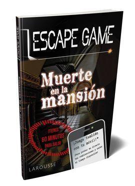 ESCAPE GAME. MUERTE EN LA MANSIÓN