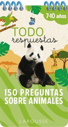 TODO RESPUESTAS.150 PREGUNTAS SOBRE ANIMALES