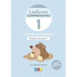 LECTURAS COMPRENSIVAS 1 SILABAS DIRECTAS 4ºED