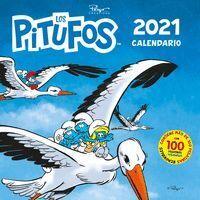 CALENDARIO LOS PITUFOS 2021