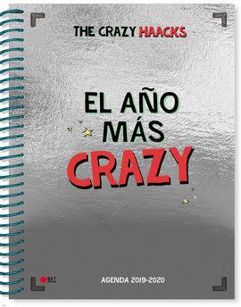 EL AÑO MÁS CRAZY. AGENDA CURSO 2019-2020 (SERIE THE CRAZY HAACKS)