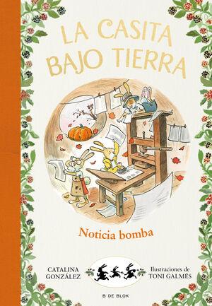 NOTICIA BOMBA!(CASITA BAJO TIERRA 5)