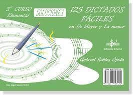 125 DICTADOS FACILES EN DO MAYOR Y LA MENOR 3º CUR