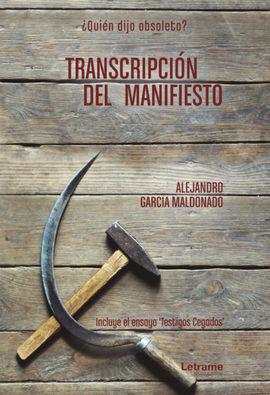 TRANSCRIPCIÓN DEL MANIFIESTO