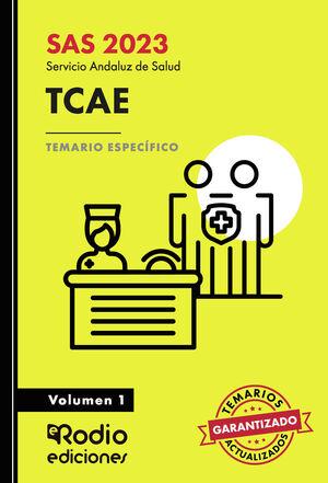 AUXILIARES DE ENFERMERÍA DEL SAS. TEMARIO ESPECÍFICO. VOLUMEN 1.