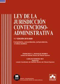 LEY DE LA JURISDICCION CONTENCIOSO-ADMINISTRATIVA - CODIGO COMENT