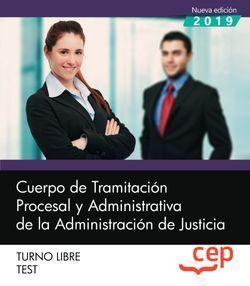 CUERPO DE TRAMITACION PROCESAL JUSTICIA LIBRE TEST