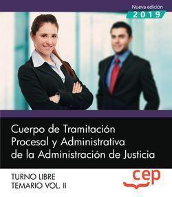 CUERPO DE TRAMITACION PROCESAL JUSTICIA LIBRE TEMARIO 2