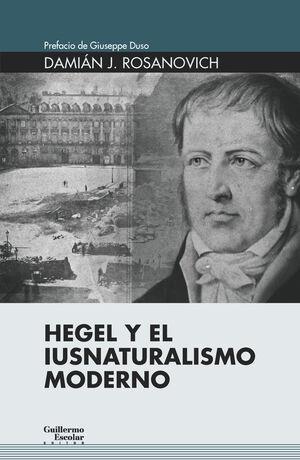 HEGEL Y EL IUSNATURALISMO MODERNO