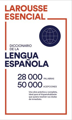 DICCIONARIO ESENCIAL LENGUA ESPAÑOLA