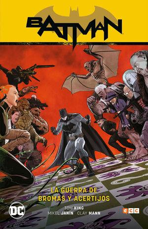 BATMAN VOL. 6: LA GUERRA DE BROMAS Y ACERTIJOS (BATMAN SAGA - RENACIMIENTO PARTE