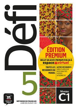 DÉFI 5 PREMIUM. LIVRE DE L'ÉLÈVE + CD