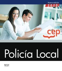 POLICÍA LOCAL. TEST