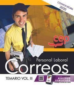 PERSONAL LABORAL CORREOS TEMARIO 3