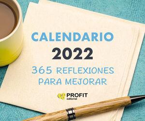 365 REFLEXIONES PARA MEJORAR - CALANDARIO 2022