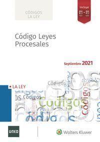 CODIGO DE LEYES PROCESALES (2021)