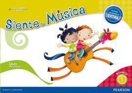 SIENTE LA MUSICA 1 LIBRO DEL ALUMNO (CONTENIDO EXT