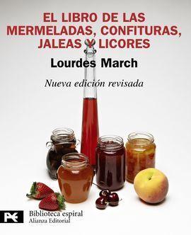 EL LIBRO DE LAS MERMELADAS, CONFITURAS, JALEAS Y L