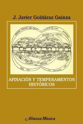 AFINACIÓN Y TEMPERAMENTOS HISTÓRICOS