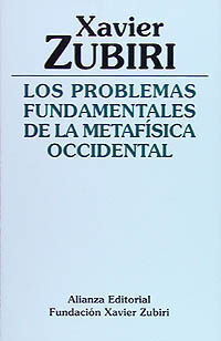 LOS PROBLEMAS FUNDAMENTALES DE LA METAFÍSICA OCCIDENTAL